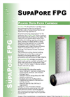 FP - SupaPore SupaPore Pleated Depth Filter Cartridge Brochure
