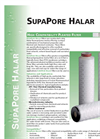 SupaPore Halar - High Compatibility Pleated Filter Brochure