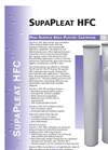 SupaPleat - HFC - High Surface Area Pleated Cartridge Brochure
