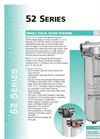 52 Series - Single Stack Filter Housing Brochure