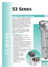 53 Series - Single Stack Filter Housing Brochure