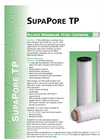 SupaPore - TP - Pleated Membrane Filter Cartridge Brochure