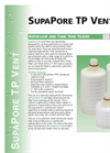 SupaPore - TPG - Screw Thread Autoclave And Tank Vent Filters Brochure