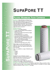 SupaPore - TT - Pleated Membrane Filter Cartridge Brochure