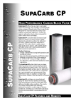 SupaCarb - CP - High Performance Carbon Block Filter Cartridge Brochure