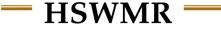 Hazardous Substance & Waste Management Research, Inc. (HSWMR)