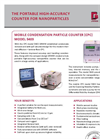Model - 5403 - Mobile Condensation Particle Counter (CPC) - Datasheet