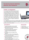 GRIMM - Model 11-R - Handheld Research Aerosol Spectrometer - Datasheet