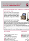 Stationary Condensation Particle Counters (CPCs) - Datasheet