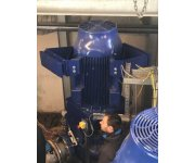 Vibration reduction in water pump motor with magnetically boosted Tuned Mass Damper - Case Study