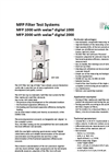 welas - MFP 1000 and MFP 2000 - Modular Filter Test System Brochure