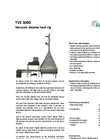 PALAS - TVE 3000 - Vacuum Cleaner Test Rig Brochure
