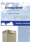 Steril-Zone - Room Air Purifier Brochrue