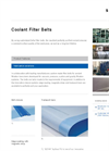 Coolant Belts Filter- Brochure