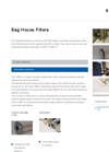 Model X-600 - Bag House Filters Brochure