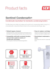 Sentinel - Model Condensafe - Condensate Neutraliser for Domestic Condensing Boilers - Brochure
