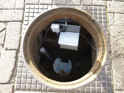 Waste Water Monitoring and Overflow Registration Loggers