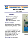 Model Z-800 - Hand Held Ammonia Monitor - Brochure