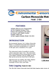 Model Z-500 - Hand Held Carbon Monoxide Meter - Brochure