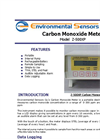 ESC - Model Z-500XP - Portable Desktop Carbon Monoxide Meter - Brochure