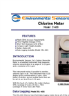 ESC - Model Z-400 - Hand Held Chlorine Meter - Brochure