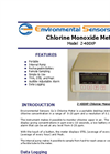 Model Z-400XP - Portable Desktop Chlorine Monoxide Meter - Brochure
