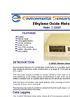 ESC - Model Z-100XP - Portable Desktop Ethylene Oxide Monitor - Brochure