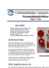 Model Z-300 - Hand Held Formaldehyde Monitor - Brochure