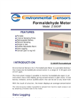 ESC - Model Z-300XP - Portable Desktop Formaldehyde Meter - Brochure