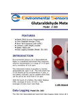 Model Z-200 - Hand Held Glutaraldehyde Monitor Meter - Brochure