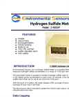 Model Z-900XP - Portable Desktop Hydrogen Sulfide Meter - Brochure