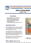 Model Z-700 - Hand Held Nitric Oxide Monitor - Brochure