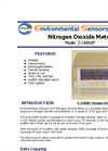 Model Z-1400XP - Portable Desktop Nitrogen Dioxide Monitor - Brochure