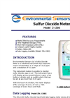 Model Z-1300 - Hand Held Sulfur Dioxide Meter - Brochure