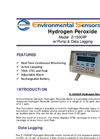 Model Z-1500XP Desktop Hydrogen Peroxide Meter Brochure