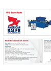 Model WB Series - Two Ram Baler Brochure