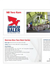 Model NB Series - Two Ram Baler- Brochure