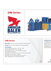Model 29N - Single Ram Baler Brochure