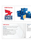 Model 42W Series - Single Ram Horizontal Baler Brochure