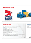 Model N620LP - Two Ram Baler Brochure