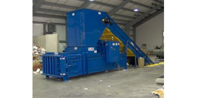 Model PW3560-820 & NF4560-1050. - Full Eject Closed-Door Horizontal Balers