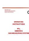 Model 0-100ppm NH3 - Ammonia Gas Measuring System Manual
