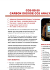 Model CO2-SS-20 - Carbon Dioxide CO2 Analyser Brochure