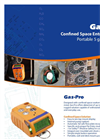 Model Gas-Pro - Personal Gas Monitor Brochure