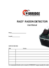 Model RAD7 - Electronic Radon Detector Manual