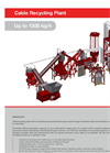 Firefox Cable Recycling Plant Up to 1300 kg/h - Brochure