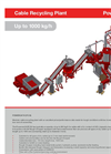 Powercat B Cable Recycling Plant Up to 1000 kg/h - Brochure