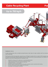 Powercat C Cable Recycling Plant Up to 750 kg/h - Brochure
