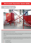 Electrostatic Separation System (ESS) Up to 1750 kg/h (high) - Brochure