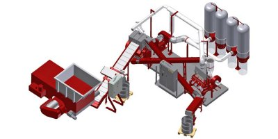 Redoma - Model Powercat C - Cable Recycling Plant - Up to 750 kg/h